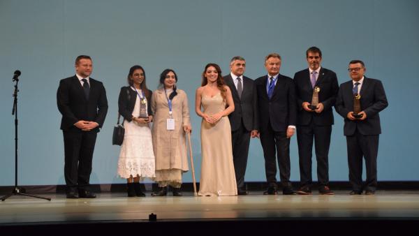 Galardonados de los premios de la OMT (Organización Mundial del Turismo de Naciones Unidas)