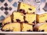 Bizcocho de yogur griego y arándanos