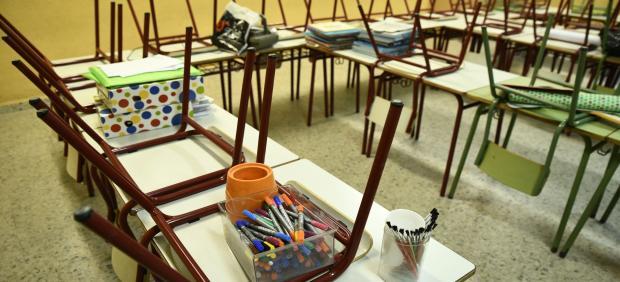 Aula de Infantil del Colegio de Educación Infantil y Primaria (CEIP)