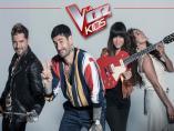 David Bisbal, Melendi, Vanesa Martín y Rosario, coaches de la 5ª edición de La Voz Kids