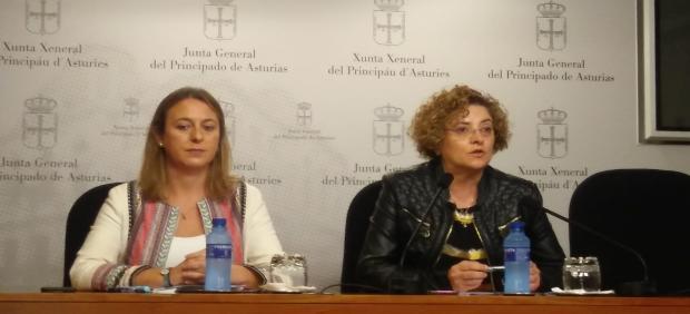 Gloria García y Reyes Hurlé.