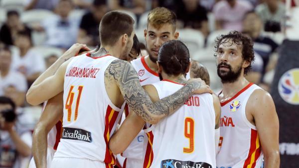 La selección española de baloncesto, en el Mundial de China