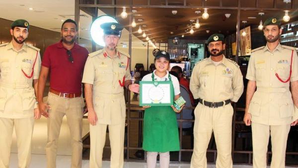 Camarera y policía de Dubái