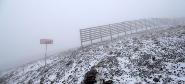 Llegan las primeras nieves a Sierra Nevada