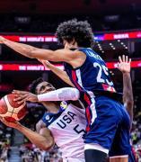 Estados Unidos y Francia se enfrentan en cuartos de final del Mundial de baloncesto