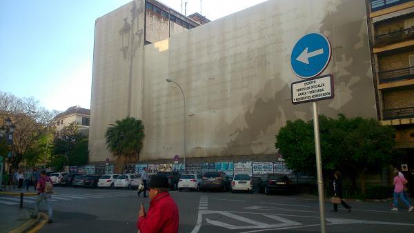 Edificio de la antigua comisaría de la Gavidia de Sevilla