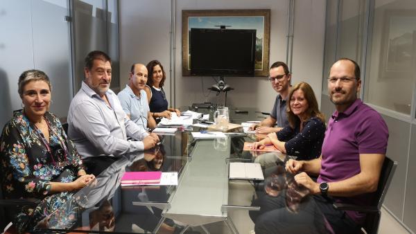 Primera reunión de la legislatura entre el Govern y la Plataforma del Voluntariado