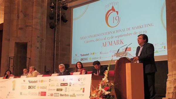 Inauguración del XXXI Congreso Internacional de Marketing