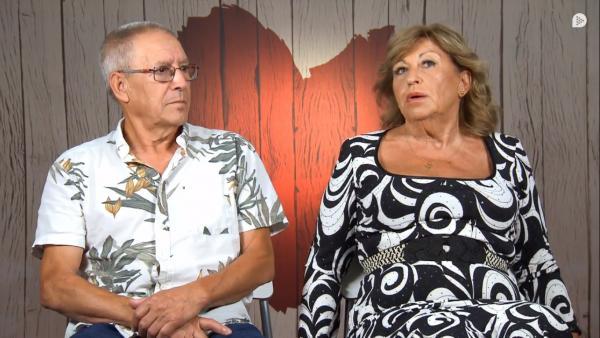 Miguel y Anita, en 'First dates'.