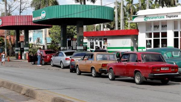 Crisis de combustible en Cuba