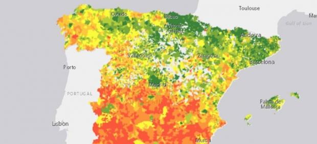 Nueva herramienta del INE para conocer la renta de los hogares.