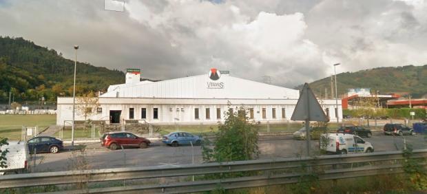 Factoría de la empresa Vesuvius en Langreo.