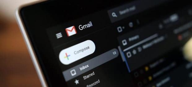 El modo oscuro en Gmail
