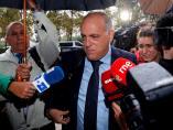 Javier Tebas, declara como testigo en el juicio del presunto amaño del encuentro entre el Levante y el Zaragoza