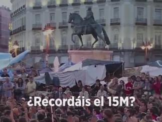 Podemos carga contra el PSOE en un vídeo