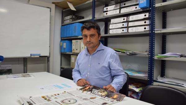 Campaña de información sobre la avispa asiática en Siero.