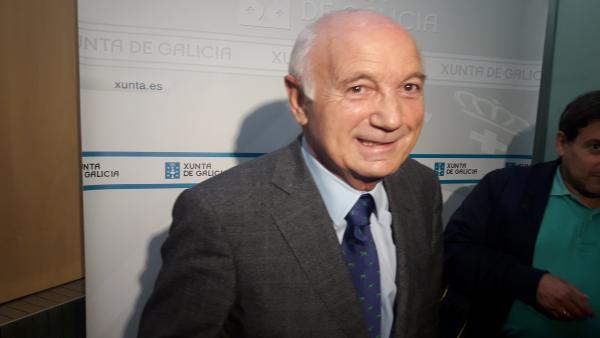 El portavoz de la CEG, Antonio Fontenla