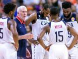 La selección de Estados Unidos naufraga ante Serbia en el Mundial