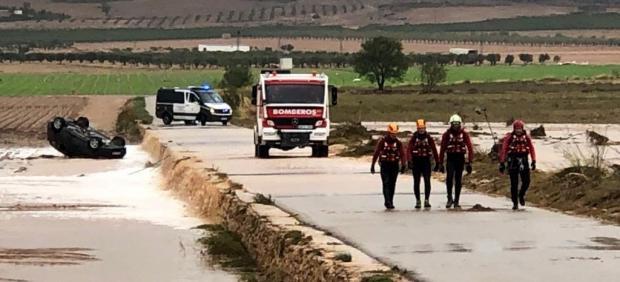 Dos muertos por la lluvia en Caudete