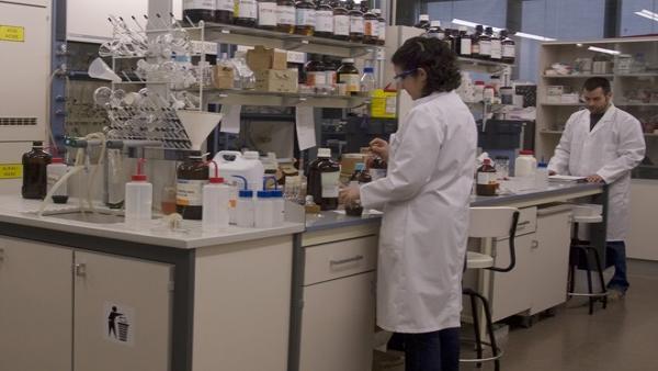 Laboratorio de investigación de la UV