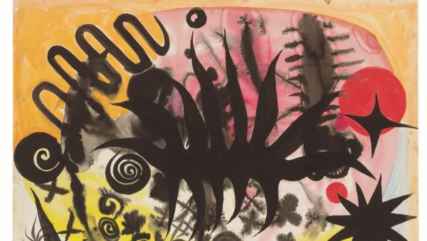 Calder E-065 ©️ 2019 Calder Foundation, New York - VEGAP, Madrid. Galería Elvira González