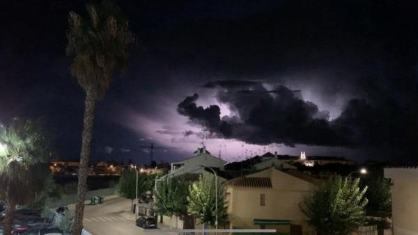 Tormenta en Los Alcázares