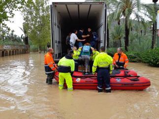 Un rescate en Orihuela
