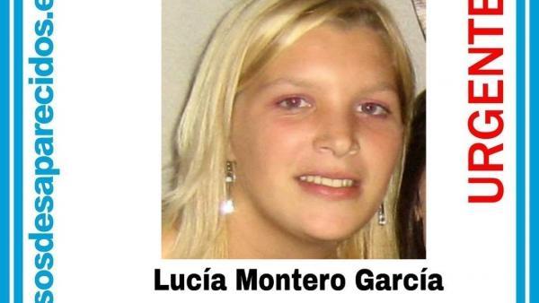 Lucía Montero, la joven desaparecida en Monforte de Lemos.