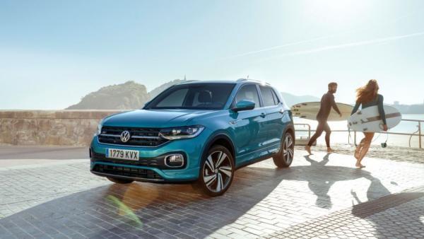 Volkswagen T-Cross, premiado por su diseño exterior en el 'Automotive Brand Contest'