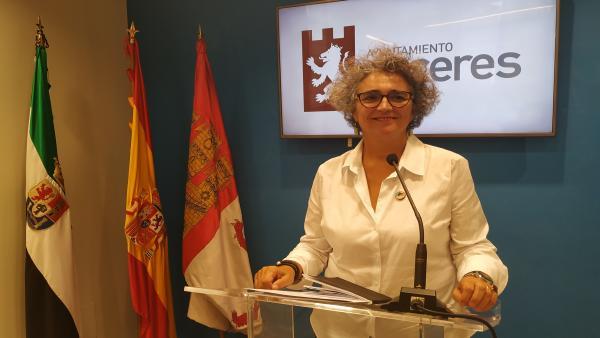 María José Pulido, primera teniente alcalde de Cáceres
