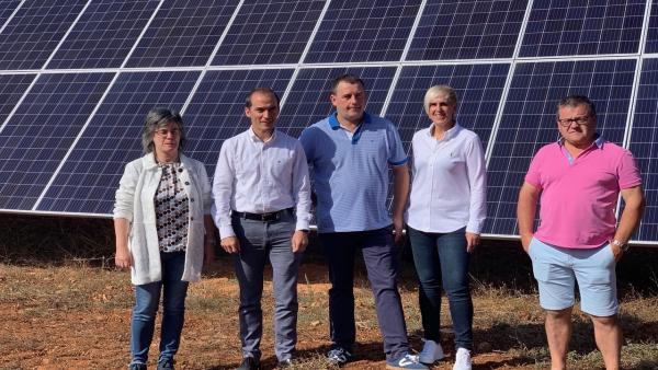 Presentación del sistema de bombeo fotovoltaico de agricultores de Orbiso (Álava)