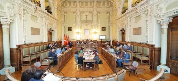 Pleno Municipal del Ayuntamiento de Valladolid correspondiente al mes de septiembre de 2019.