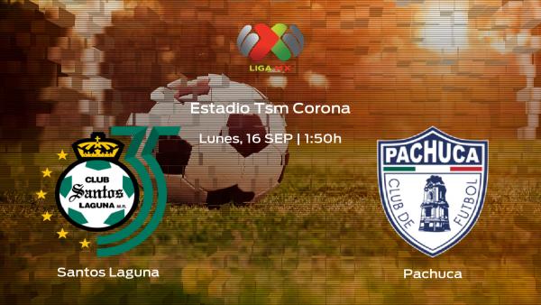 Jornada 9 de la Liga MX de Apertura: previa del duelo Santos Laguna - Pachuca