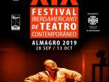Cartel del Festival Iberoamericano de Teatro Contemporáneo de Almagro
