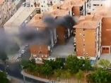 Incendio en La Vuelta