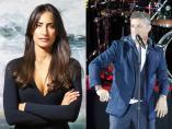 Rachel Valdés y Alejandro Sanz