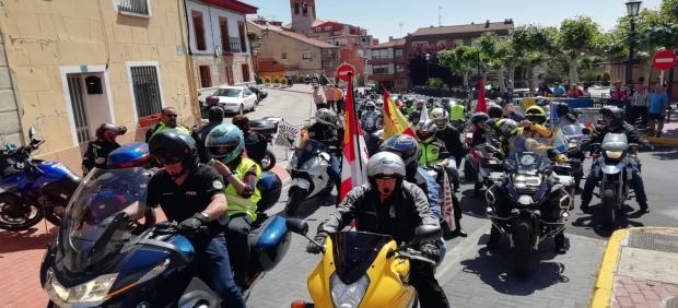 Motoristas en Zaratán