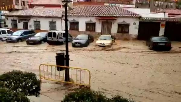 Arganda del Rey, de nuevo inundada
