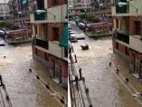 Inundaciones en Arganda