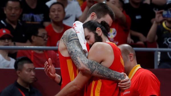 Ricky y Juancho celebran el Mundial