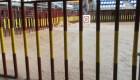 Inundada la plaza de toros de Arganda del Rey