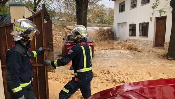 Inundaciones en Madrid por la gota fría