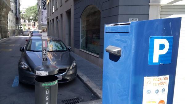 Zona azul de SARE Málaga