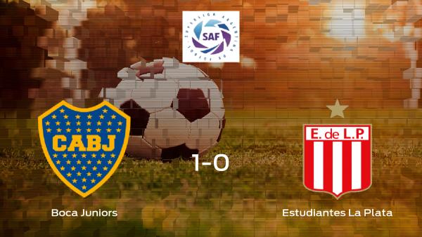 Los tres puntos se quedan en casa tras el triunfo del Boca frente al Estudiantes La Plata (1-0)
