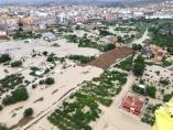Huerta de Murcia anegada