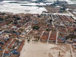 Inundaciones en Torre Pacheco DANA septiembre, lluvias torrenciales