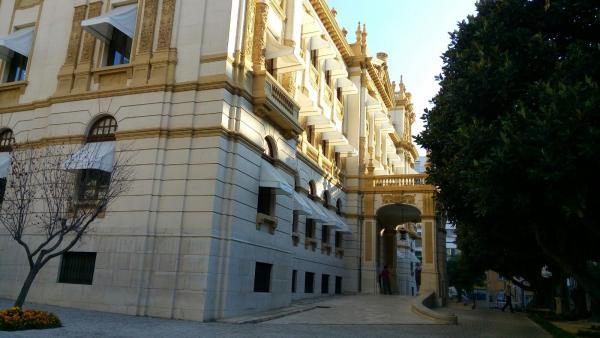 Palacio Provincial de Alicante, imagen de archivo.