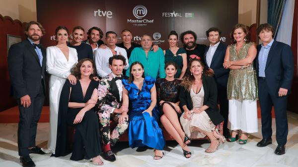 Presentación MasterChef Celebrity en Vitoria