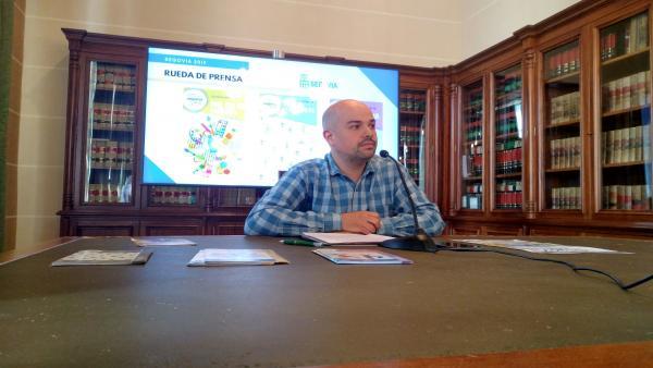 El concejal de Medio Ambiente y Juventud, Ángel Galindo (IU).