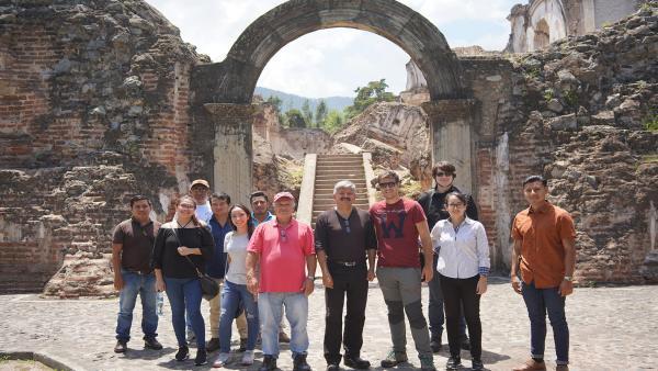 Investigadores de la UJA desplazados a Guatemala